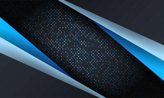 Fundo de malha abstrata luxo com textura de hexágono