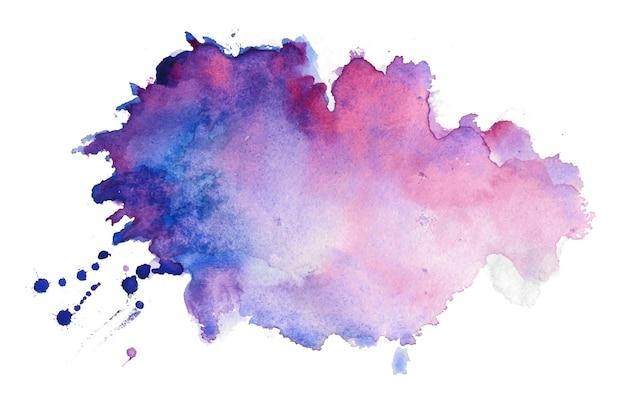 Fundo de mancha de respingos de textura de aquarela