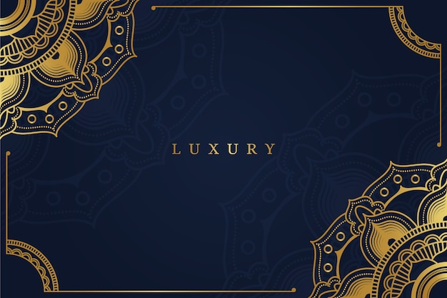 Fundo de mandala de luxo