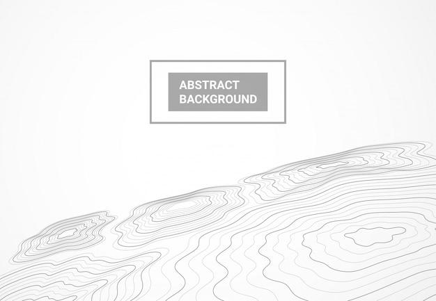 Fundo de mapa de topografia geodésia paisagem