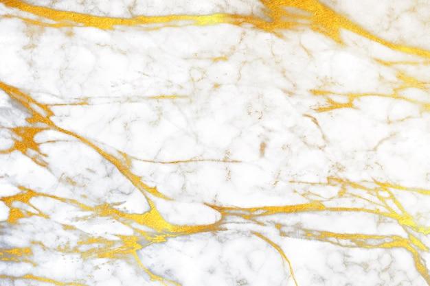 Fundo de mármore criativo com detalhes dourados