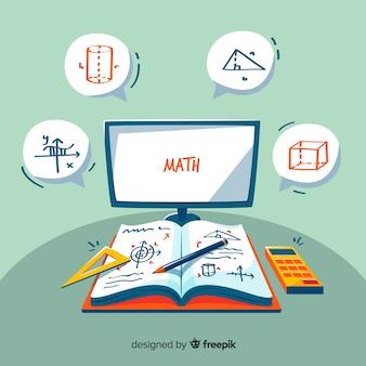 Fundo de matemática