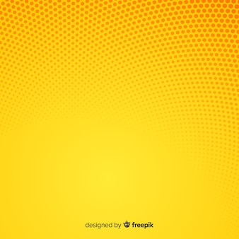 Fundo de meio-tom abstrato amarelo
