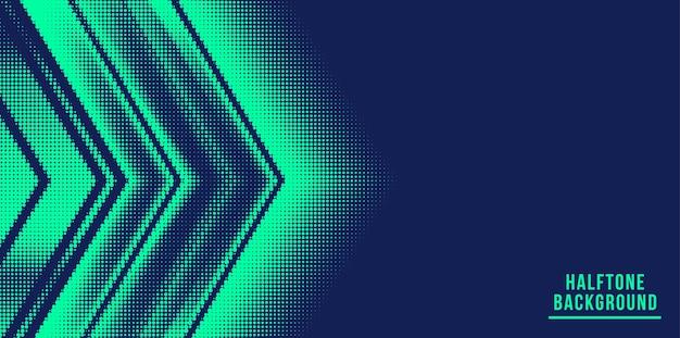 Fundo de meio-tom abstrato da seta
