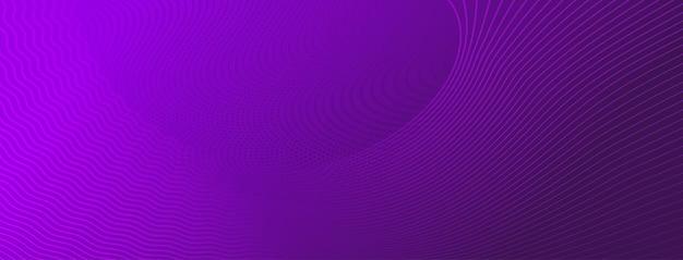 Fundo de meio-tom abstrato de pequenos pontos e linhas onduladas em cores roxas