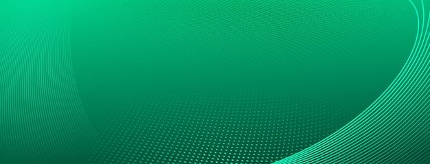 Fundo de meio-tom abstrato de pequenos pontos e linhas onduladas em cores turquesas