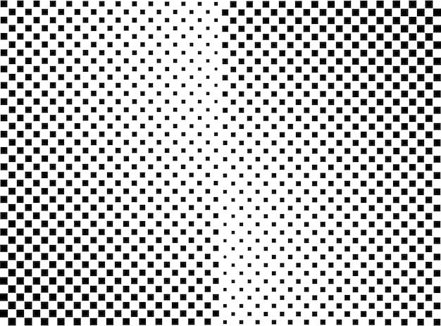 Fundo de meio-tom abstrato de retângulo geométrico