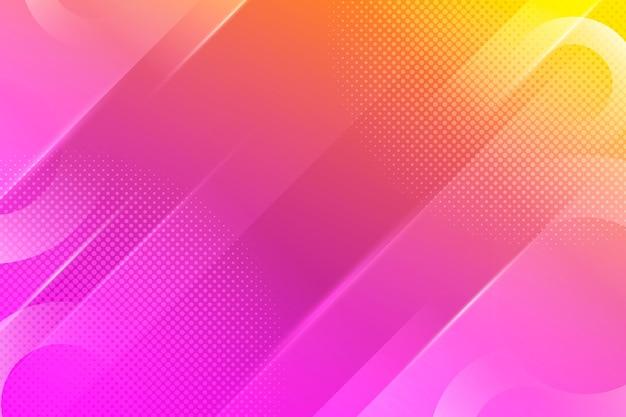 Fundo de meio-tom abstrato gradiente