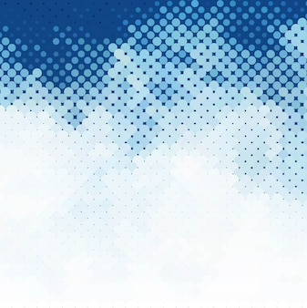 Fundo de meio-tom azul moderno