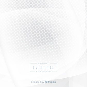 Fundo de meio-tom branco abstrato