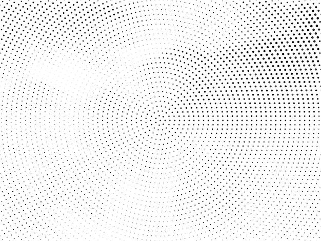 Fundo de meio-tom circular moderno abstrato