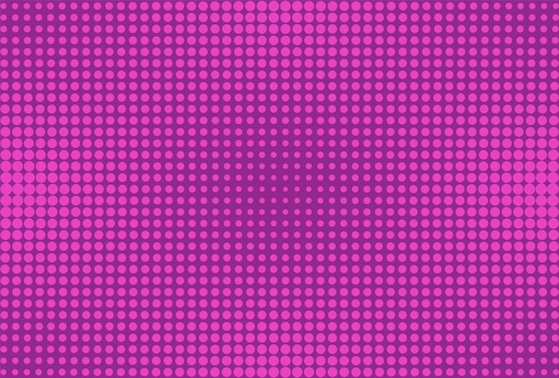 Fundo de meio-tom da pop art. fundo violeta em quadrinhos. ilustração vetorial.