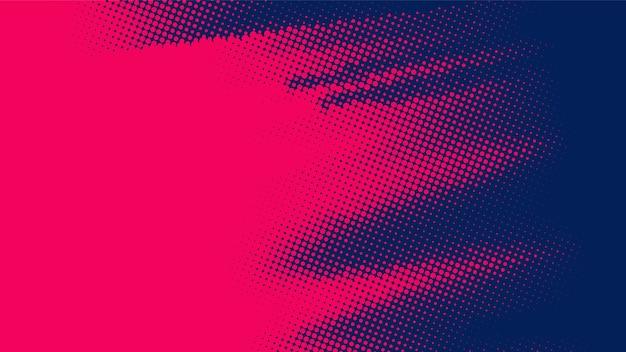 Fundo de meio-tom diagonal vermelho e preto