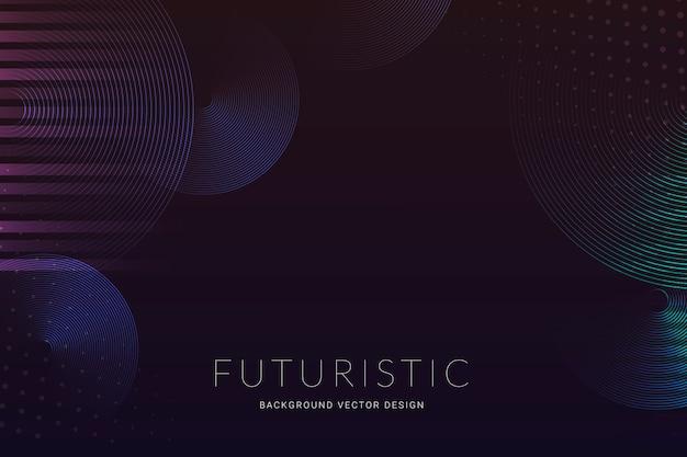 Fundo de meio-tom futurista