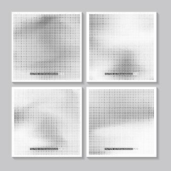 Fundo de meio-tom grunge textura de pontos meio-tom