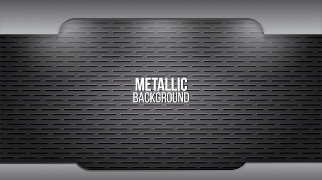 Fundo de metal com textura de alumínio