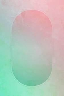 Fundo de moldura oval