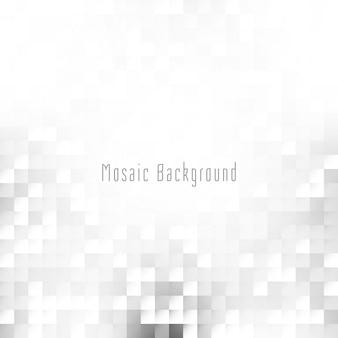 Fundo de mosaico de cor cinza brilhante abstrato