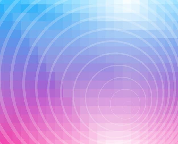 Fundo de mosaico de grade azul roxo, design criativo