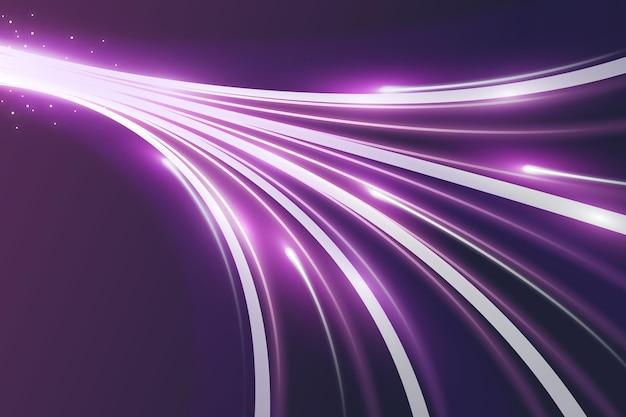 Fundo de movimento de velocidade de néon
