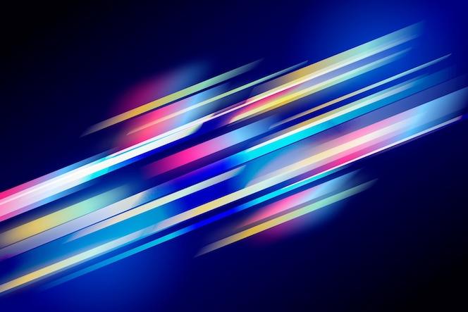 Fundo de movimento de velocidade gradiente