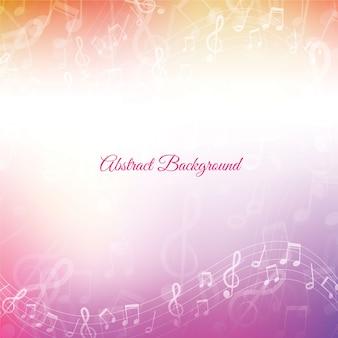 Fundo de música abstrata