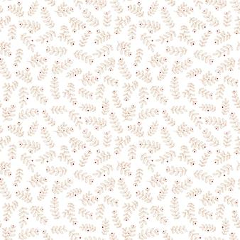 Fundo de natal sem costura com ramos dourados minimalistas. estilo simples. plano de fundo transparente para decoração de férias de inverno, papel de embrulho, tecido