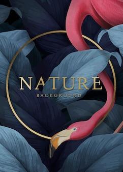 Fundo de natureza tropical