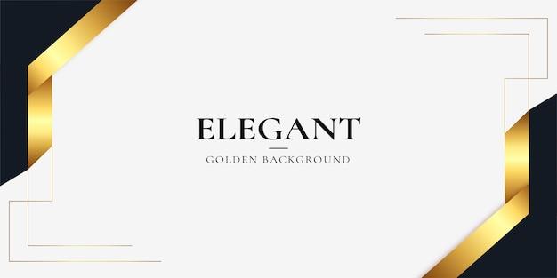 Fundo de negócios moderno e elegante com ornamentos de ouro