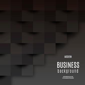 Fundo de negócios moderno preto