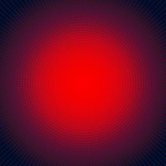 Fundo de néon vermelho de conceito digital de tecnologia