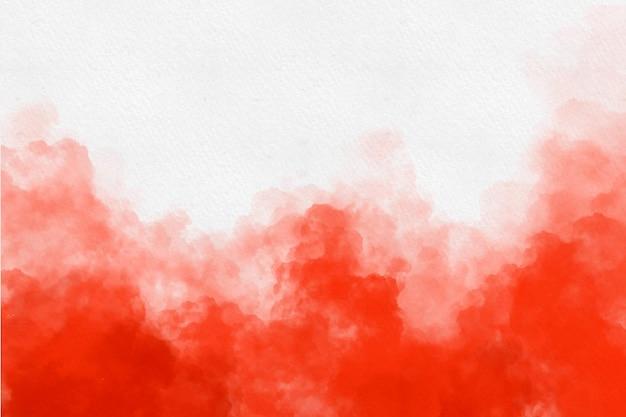 Fundo de nuvem com textura aquarela