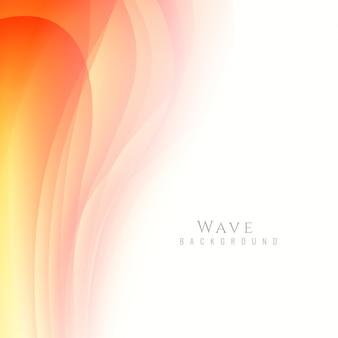 Fundo de onda colorido simples