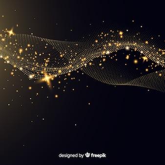 Fundo de onda de luz