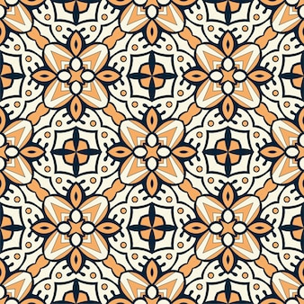 Fundo de ornamento de padrão de luxo. forma simples e contínua pronta para impressão