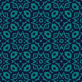 Fundo de ornamento de padrão simples de duas cores. forma abstrata perfeita