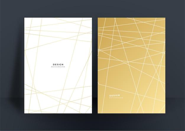 Fundo de ouro branco de luxo simples e mínimo