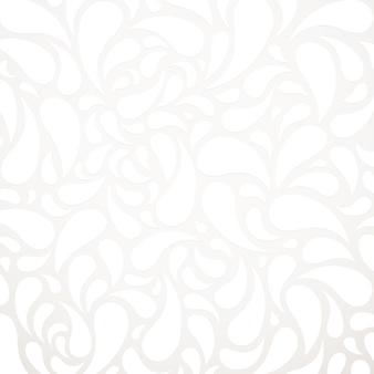 Fundo de padrão abstrato de forma de água branca