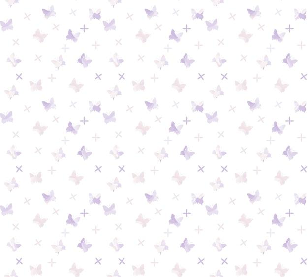 Fundo de padrão de borboleta