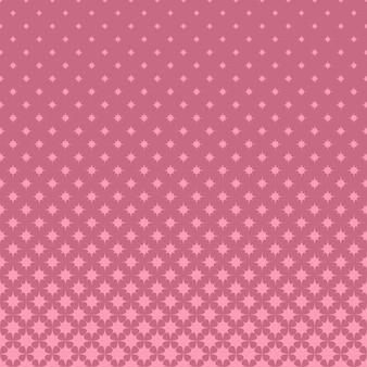 Fundo de padrão de estrela de meio-tom rosa