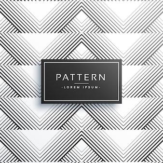 Fundo de padrão de linha elegante com largura diferente