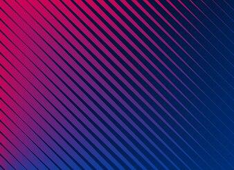 Fundo de padrão de linhas diagonais vibrantes