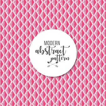 Fundo de padrão de losango listrado geométrico rosa brilhante