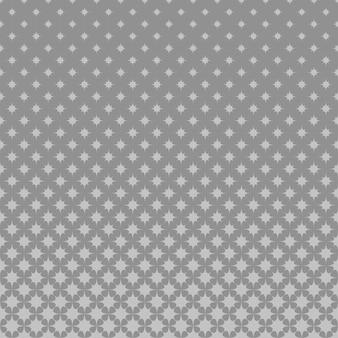Fundo de padrão de octagram curvo de meio tom cinzento
