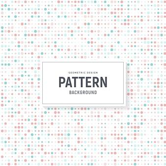 Fundo de padrão de pontos coloridos