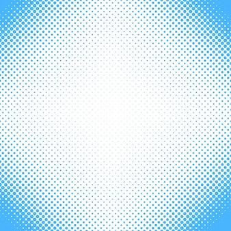 Fundo de padrão de pontos de meio-tom abstrato - design vetorial de círculos em tamanhos variados