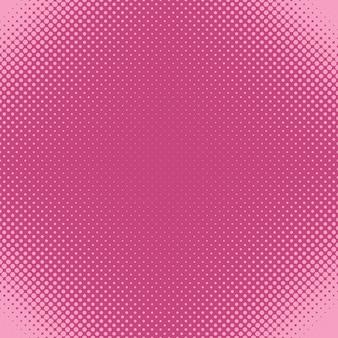 Fundo de padrão de pontos de meio-tom geométrico - gráfico vetorial de círculos em tamanhos variados