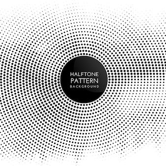 Fundo de padrão de pontos de meio-tom