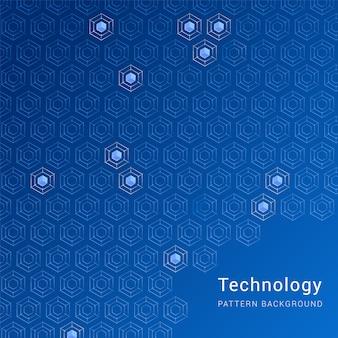Fundo de padrão de tecnologia