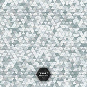 Fundo de padrão de triângulo colorido de efeito óptico abstrato